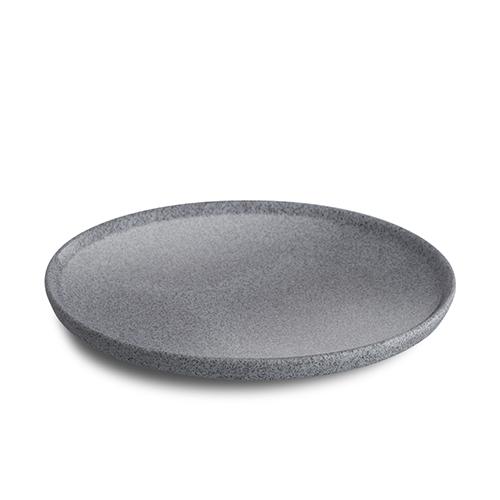 tarelka-s-pryamym-bortom-24-sm-svetlo-seraya-glazed-granit
