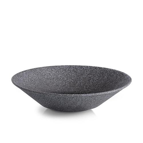 tarelka-dlya-pasty-27-sm-temno-seraya-raw-granit