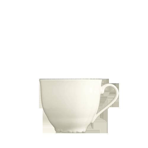Чашка высокая с вензелем 250 мл бежевый цвет Verona Ivory