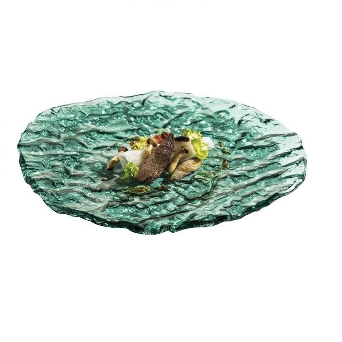tarelka-mar-zelenoe-steklo-28-sm-pordamsa