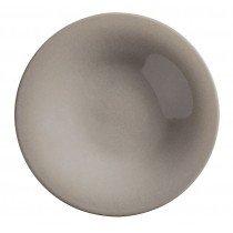 тарелка для пасты бежевого цвета глубокая без борта