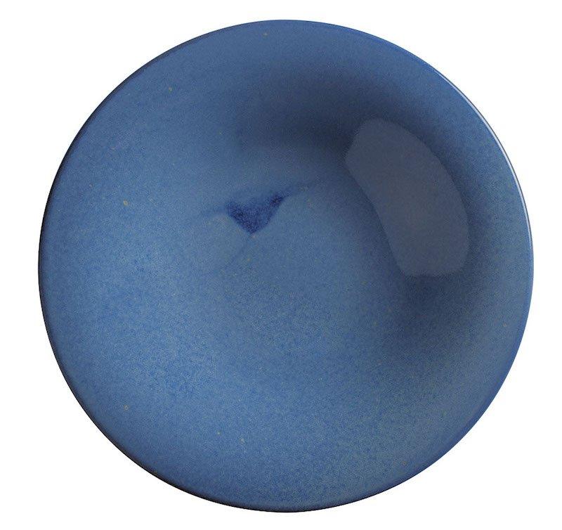 тарелка синего цвета для пасты 30 см